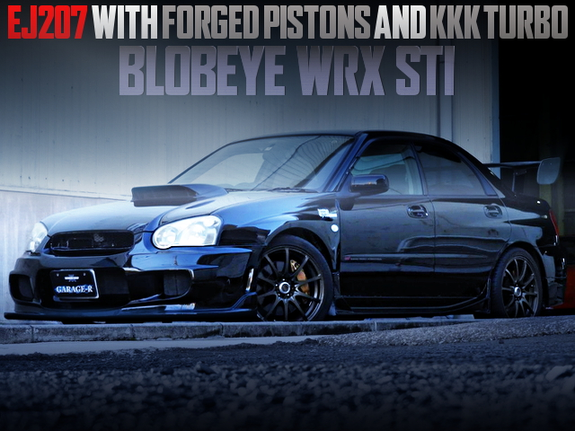 EJ207 With FORGED PISTONS AND KKK TURBO INTO BLOBEYE GDB WRX STI