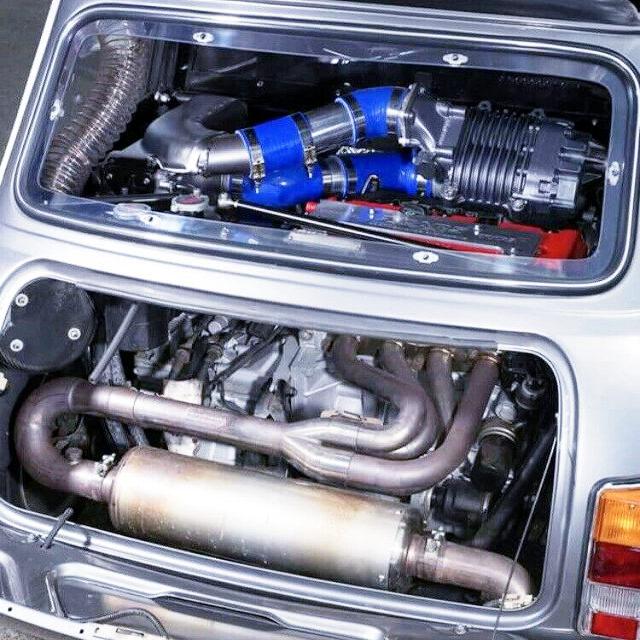 K20A いVTEC SUPER CHARGER ENGINE
