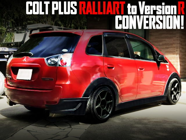 COLT PLUS RALLIART TO VERSION R CONVERSION