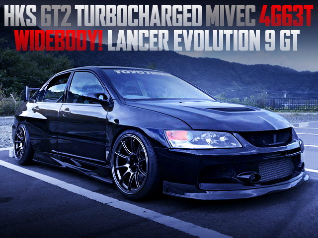 GT2 TURBOCHARGED CT9A EVO 9 GT