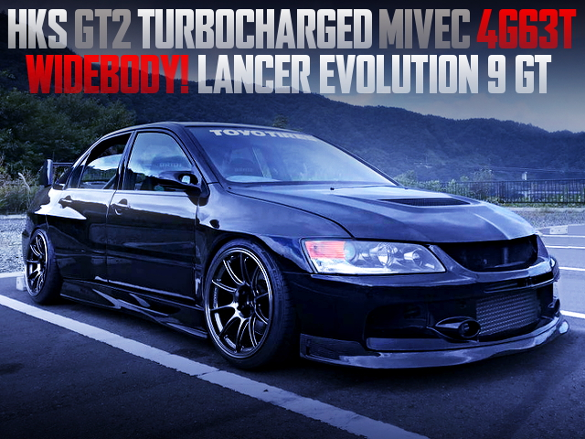 GT2 TURBOCHARGED CT9A EVO 9 GT