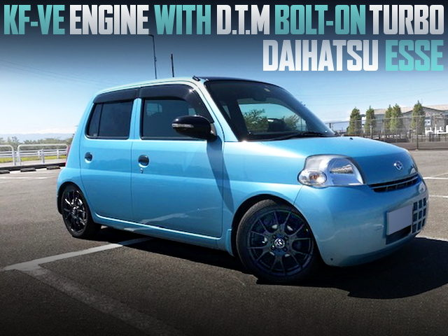 DTM BOLT ON TURBO INSTALLED DAIHATSU ESSE