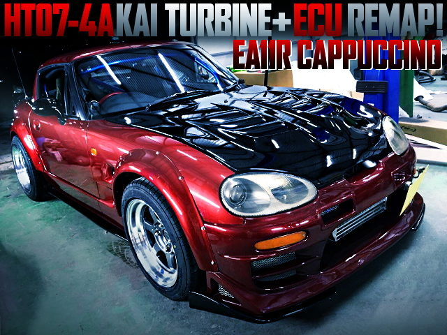 HT07 TURBINE AND ECU REMAP WITH EA11R CAPPUCCINO WIDEBODY