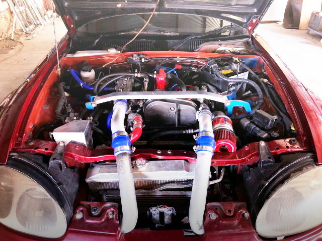 F6A TWINCAM TURBO ENGINE