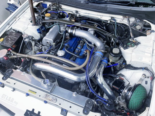 RB25DET TURBO ENGINE OF ECR33 MOTOR