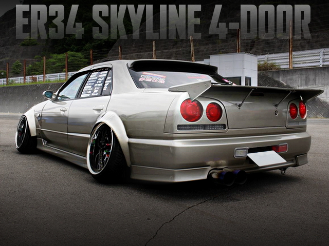 CAMBAR AND STANCE OF ER34 SKYLINE 4-DOOR