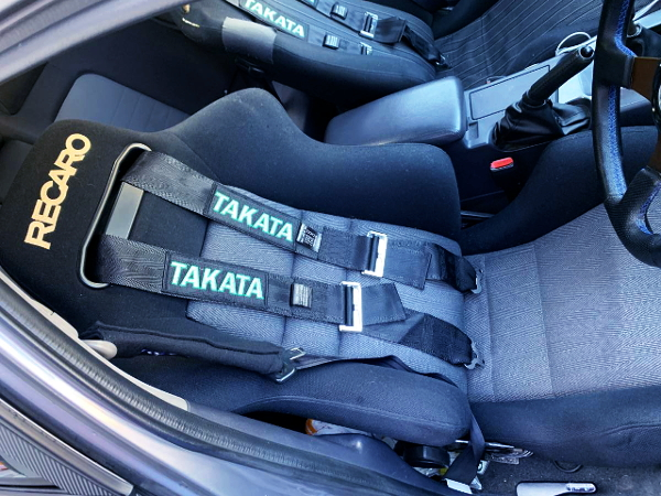 RECARO SEAT AND TAKATA SEAT BELT