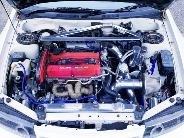 4G63 TURBO ENGINE OF LANCER EVOLUTION 6 GSR
