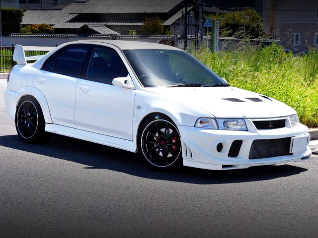 FRONT EXTERIOR OF EVO6 TOMMI MAKINEN