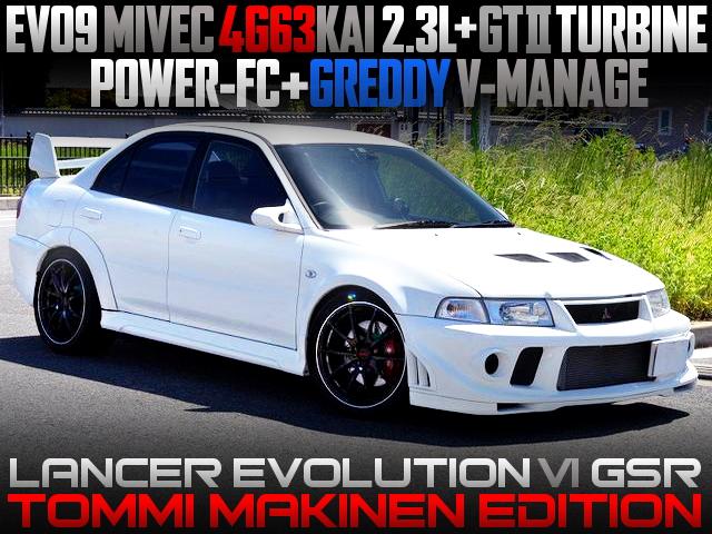 MIVEC 4G63 2300cc GT2 TURBO ENGINE INTO EVO6 GSR TOMMI MAKINEN