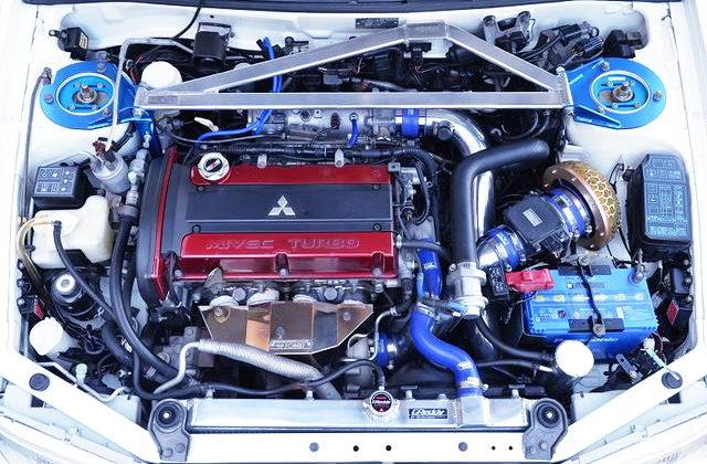MIVEC 4G63 TURBO ENGINE