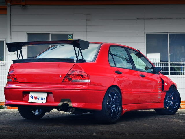 REAR EXTERIOR EVO7 RS RED COLOR