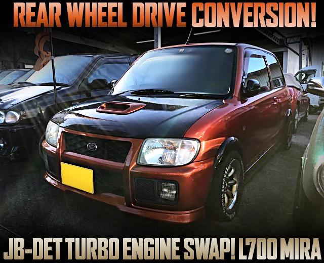 REAR WHEEL DRIVE CONVERSTION TO L700 MIRA