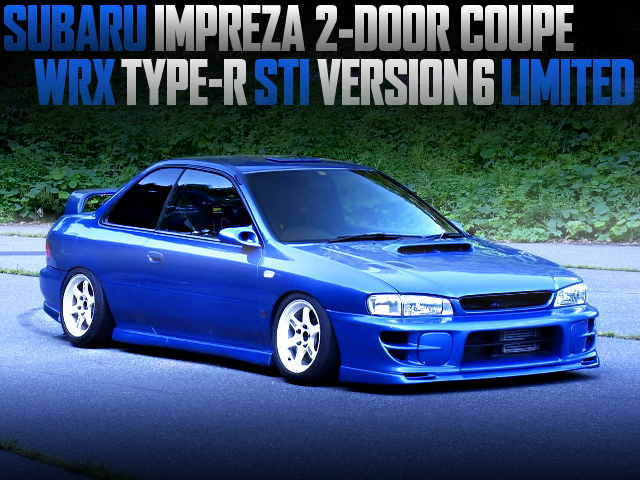 GC8 IMPREZA 2DOOR COUPE WRX TYPE-R STI VER6 LIMITED OF STANCE
