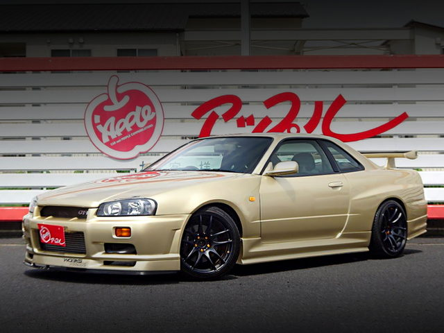 FRONT EXTERIOR R34 SKYLINE 25GT-T OF R34 GTR REPLICA