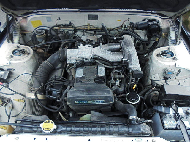 2JZ-GE 3000cc ENGINE SWAP TO GX61 CRESTA ENGINE ROOM