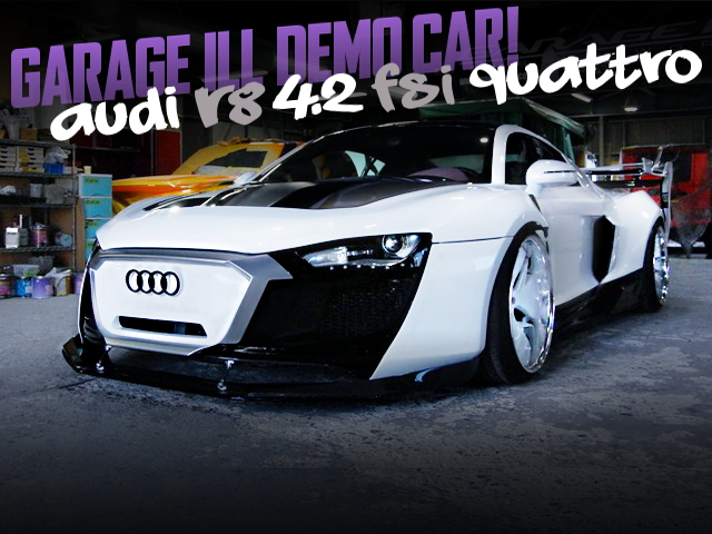 GARAGE ILL DEMO CAR OF AUDI R8 42TSI QUATTRO