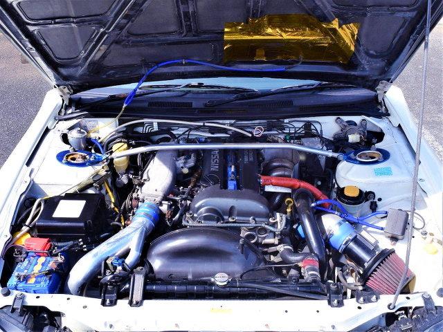 SR20DET TURBO ENGINE OF S15 SSILVIA SPEC R