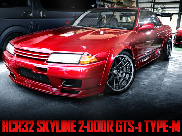 R32 GT-R FRONT END AND WIDEBODY WITH HCR32 SKYLINE 2-DOOR GTS-t TYPE-M