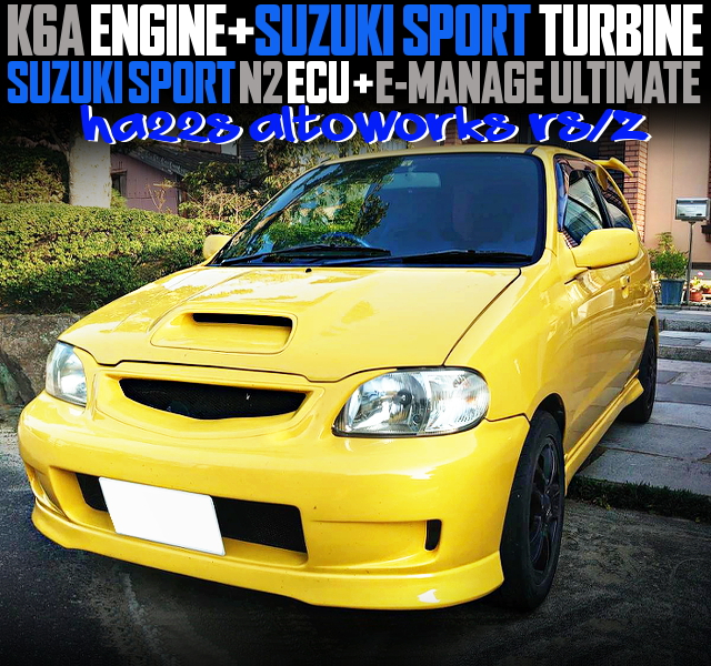 SUZUKI SPORT TURBINE AND ULTIMATE OF HA22S ALTO WORKS RSZ