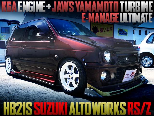 JAWS-YAMAMOTO TURBINE INSTALLED HB21S ALTOWORKS RSZ