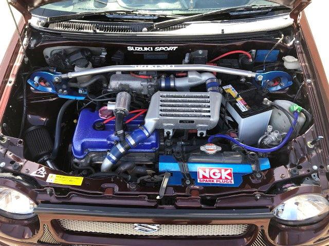 K6A DOHC TURBO ENGINE