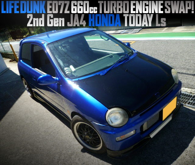 E07Z TURBO ENGINE SWAPPED JA4 HONDA TODAY