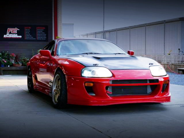 FRONT FACE OF JZA80 SUPRA RZ
