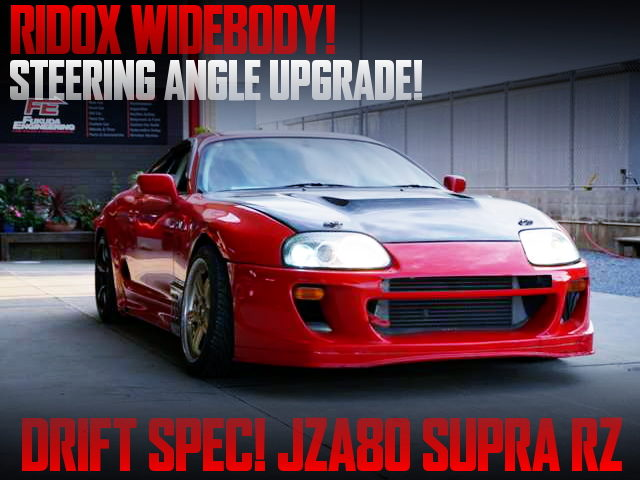 DRIFT SPEC OF JZA80 SUPRA RZ WITH RIDOX WIDEBODY