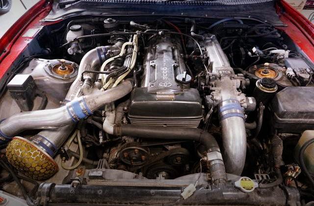 2JZ-GTE TWINTURBO ENGINE OF NON-VVTi
