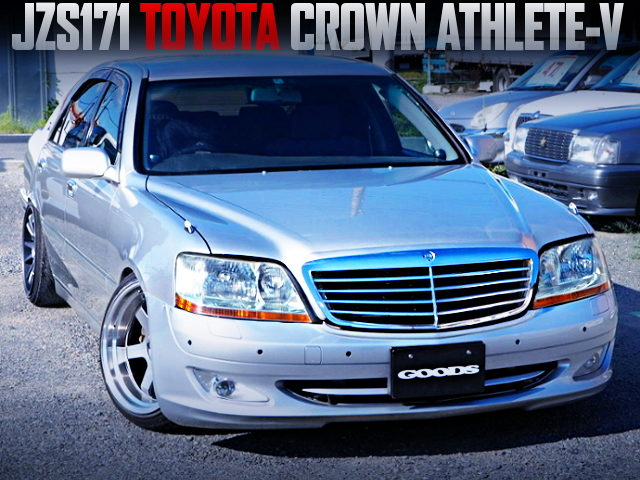 17 MAJESTA HEAD LIGHT AND BENZ GRILL CONVERSION TO JZS171 CROWN