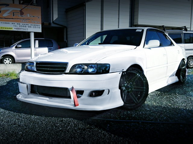 FRONT EXTERIOR OF JZX100 CHASER