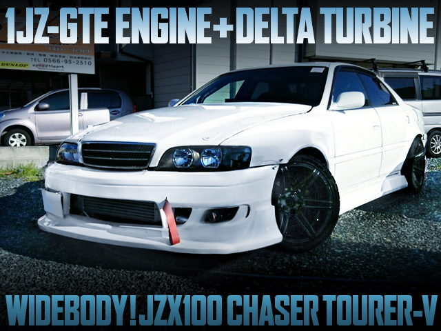 DELTA TURBOCHARGED JZX100 CHASER TOURER-V WITH WIDEBODY