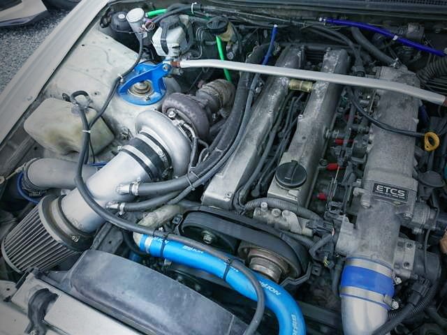 1JZ-GTE ENGINE WITH DELTA TURBO KIT