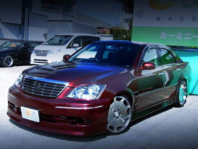FRONT EXTERIOR ZERO CROWN FACE TO JZX110 MARK2