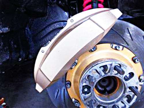 BIG BRAKE CALIPER ANDBIG BRAKE ROTOR