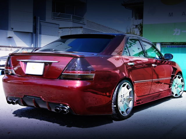 REAR EXTERIOR OF JZX110 MARK2 GRANDE iR-V