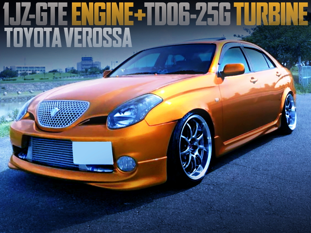 1JZ-GTE TD06-25G TURBO INTO JZX110 VEROSSA