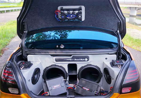 TRUNK AUDIO SYSTEM