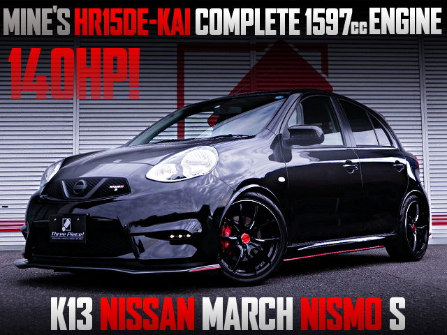 140HP MINEs HR15DE-kai 1597cc ENGINE INTO K13 MARCH NISMO S