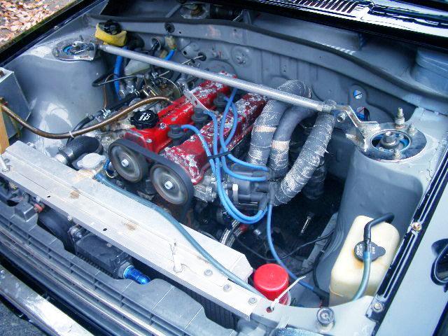 16VALVE 4AG ENGINE with CARBURETORS