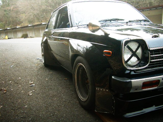 FRONT FENDER OF KP61 STARLET TS WIDEBODY