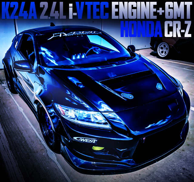 K24A iVTEC SWAPPED ZF1 CR-Z WIDEBODY