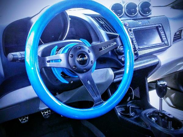 BLUE NRG STEERING