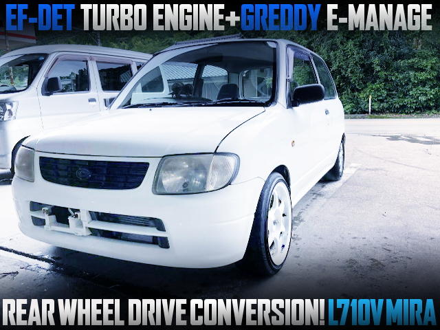 REAR WHEEL DRIVE CONVERSION L710V MIRA DRIFT SPEC