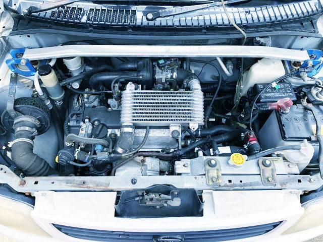 EF-DET 660cc TURBO ENGINE