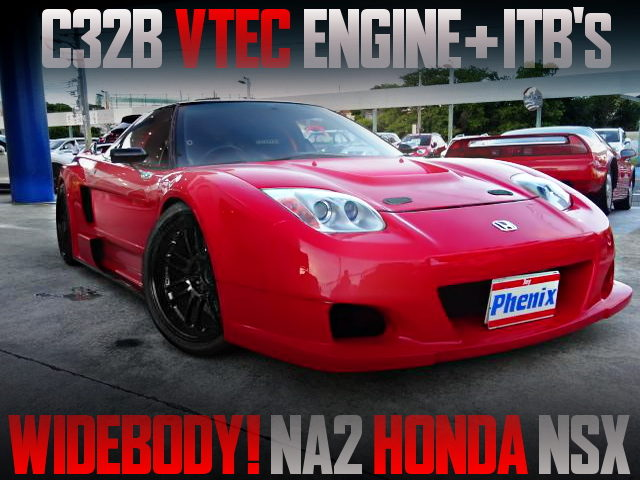 INDIVIDUAL THROTTLE BODIES OF NA2 NSX WIDEBODY