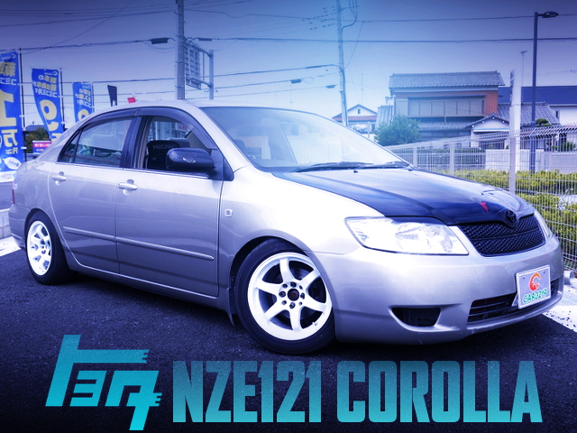 1NZ-FE ENGINE AND5MT MODEL NZE121 COROLLA CUSTOM CAR