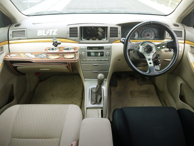CUSTOM INTERIOR OF NZE121 COROLLA