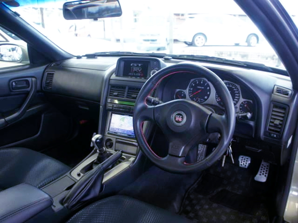 R34 GT-R NUR INTERIOR